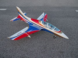 "MINI AVANTI S 54"" 90MM EDF OR 20-30N TURBINE JET ARF BLUE / WHITE / RED"